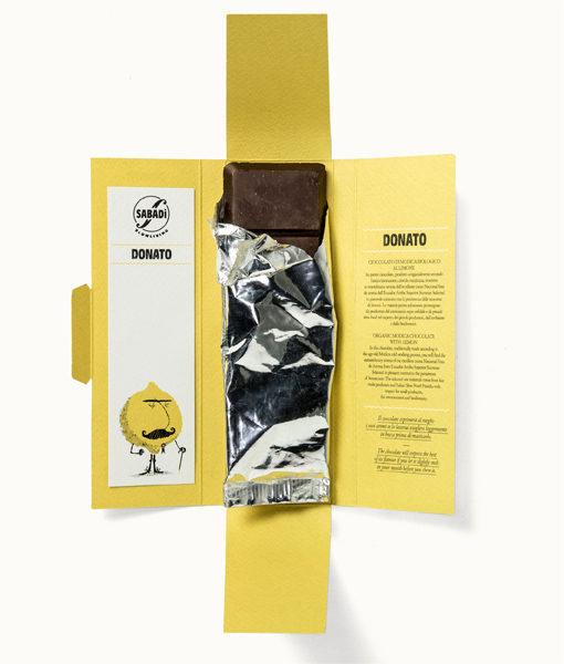 cioccolato di modica bio al limone