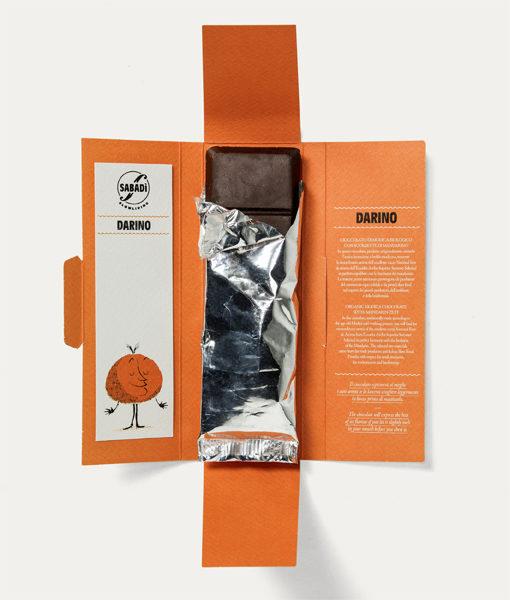 cioccolato di modica IGP al mandarino