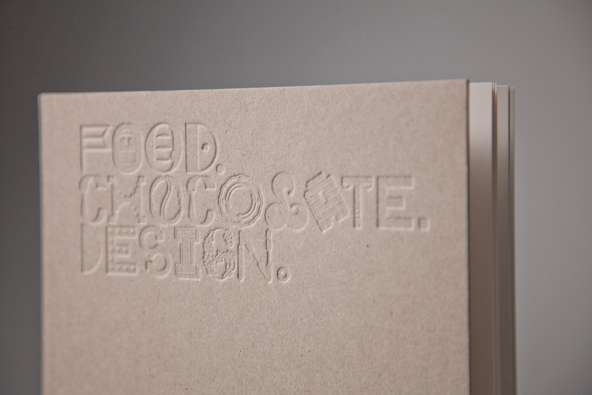 food chocolate design copertina libro