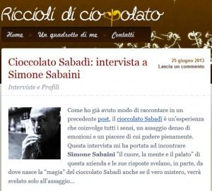 Riccioli di Cioccolato - 25/06/13