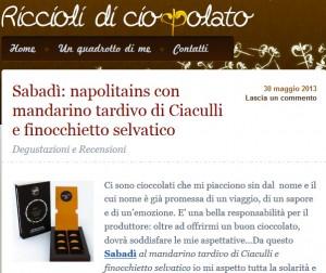Riccioli di Cioccolato - 30/05/13