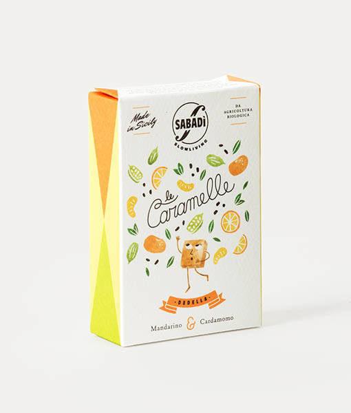 caramelle biologiche naturali mandarino cardamomo
