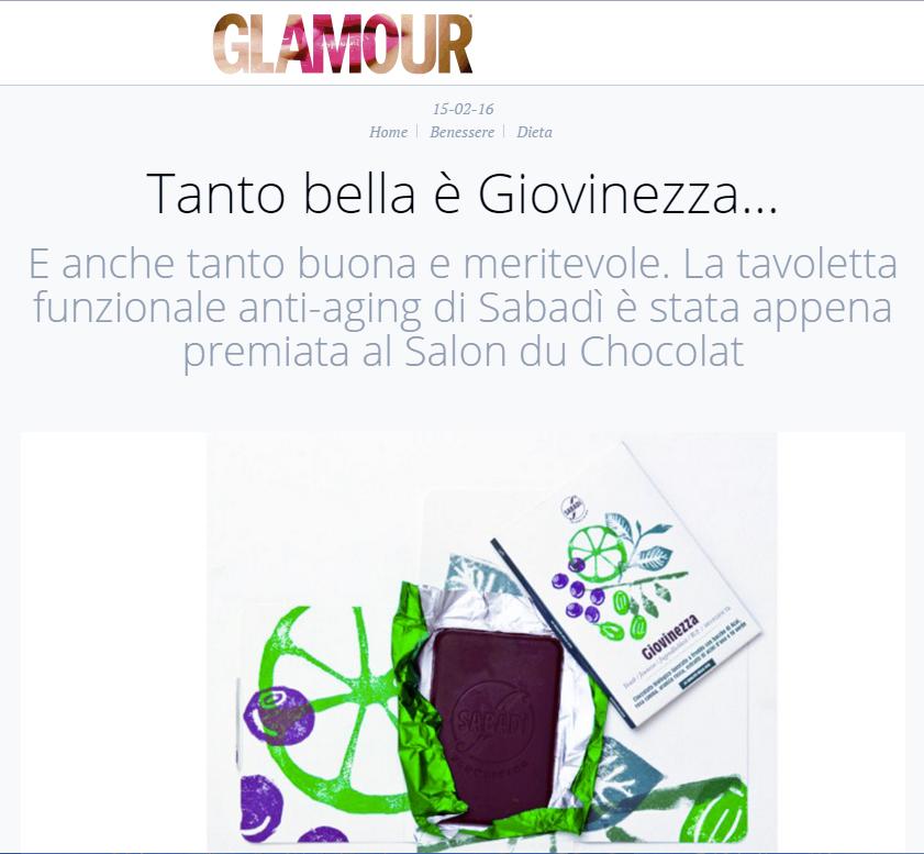 Glamour 15/02/16