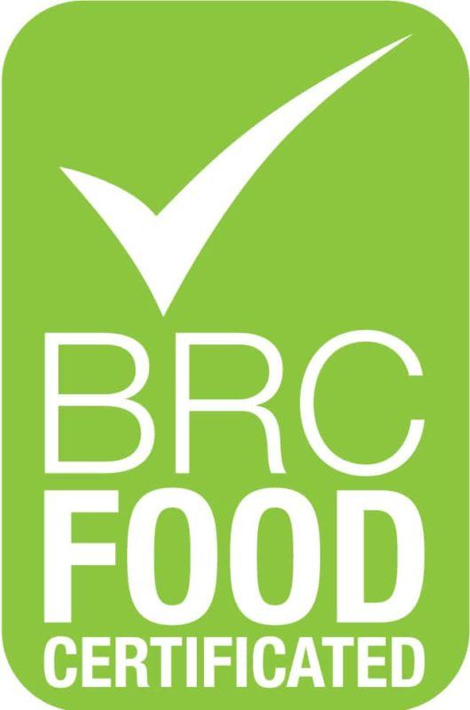 FOOD CERTIFICATED BRC