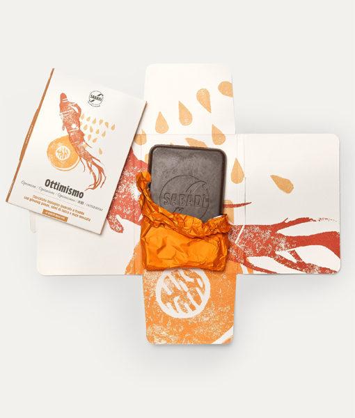 OTTIMISMO - Cioccolato biologico con semi di zucca, Ginseng Panax e noce moscata 1
