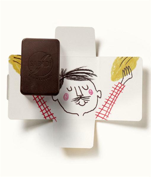 cioccolato al latte bio fondente PAPA