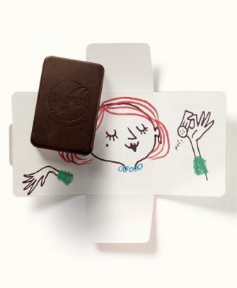cioccolato al latte e sale bio MAMMA