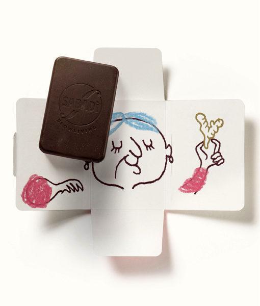 cioccolato al latte e zenzero bio NONNA