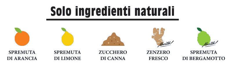 Ingredienti naturali Bibite Madre