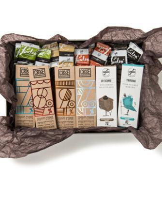 scatola degustazione cioccolato fondente