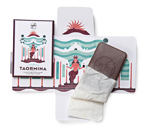 barretta cioccolato di taormina